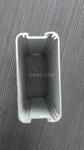 超薄壁亮银淋浴房铝型材