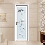 平开门铝材代理 平开卫浴门铝材厂