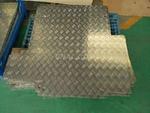 博展生產:五條筋、指針花紋鋁板