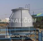 湖南冷水機輔助設備玻璃鋼冷卻塔
