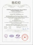 CERTIFICATE OF QUALITY MANAGEMENT SYSTEM CERTIFICA TION