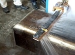 厚鋼板高頻感應加熱爐