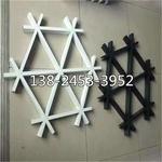 鋁格柵廠家生產三角形鋁格柵規格