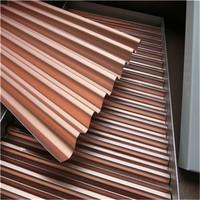三角孔瓦楞蜂窝板、波纹铝瓦楞板