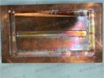 铜散热水道焊接