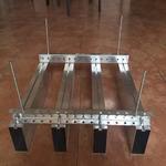 供应铝型材方通 凹槽铝方通吊顶