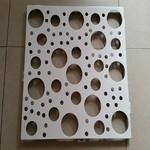 定制不规则冲孔幕墙铝单板