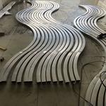 定制弧形鋁方管 拉彎鋁方管