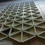 铝型材组合三角形铝格栅