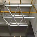 三角形鋁格柵吊頂廠家