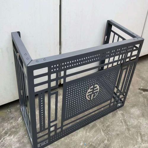 铝空调罩、雕花铝单板、镂空铝单板