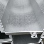 供應拉絲鋁單板 銅色拉絲鋁板價格