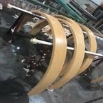 鋁型材方通弧形拉彎廠家