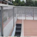 菱形孔铝网板_铝拉网板包框定制