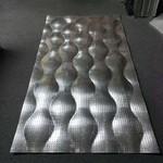 沖孔造型鋁單板定制_鋁板加工