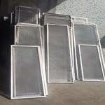 拉伸铝板网定制 围栏装饰铝网