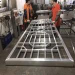 倣古鋁窗花定制 鋁方管焊接花格