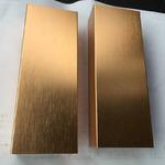 6063铝型材阳极氧化_拉丝铝方通