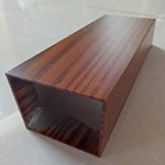 木纹铝方管 木纹铝方通规格齐全