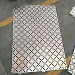 氟碳冲孔铝单板 冲孔铝板幕墙