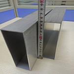 厂家直销6063铝型材方管规格齐全