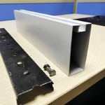 木纹铝型材铝方通生产厂家