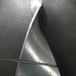 厂家定制扭曲铝单板 波浪铝单板