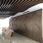 室內藝術吊頂弧形鋁方通