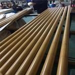 仿竹纹铝圆管 金属铝竹竿厂家