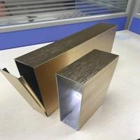 陽極氧化鋁方管_鋁合金拉絲鋁方通