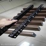 型材凹槽木纹铝方通定制生产厂家