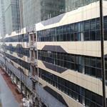 办公楼外墙铝板面氟碳喷涂铝单板