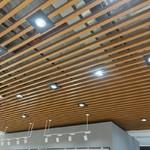 超市木紋鋁方通吊頂 U型鋁方通廠家