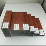 木纹铝方管幕墙吊顶装饰材料