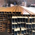 幕墙木纹铝方管隔断装饰价格