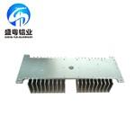 厂家供应梳子型散热器铝合金型材