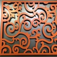 氟碳雕花铝单板