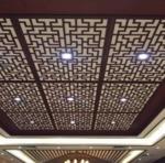 室内雕花铝单板天花工程装饰材料