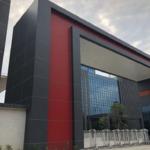 门面招牌氟碳铝单板生产商筑耀幕墙