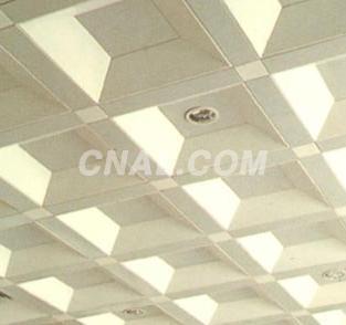 井型铝扣吊顶 凹型天花板
