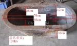 供应锌合金熔炉配件铸铁坩埚