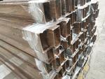 吊顶隔断铝型材 铝方管氟碳喷涂