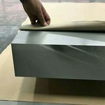 达运数控锯床切割超厚铝板