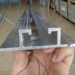 标牌用铝滑道 装饰槽铝