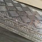 纯铝花纹铝板 合金花纹防滑铝板