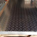 5052防滑铝板 2.5mm五条筋铝板