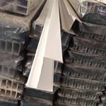 天津6063洁净室铝材 75型单门料