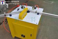西安晶鋼門鋁型材切割機晶鋼門生產設備