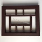 花格花窗 鋁窗花木紋 鋁倣古窗花