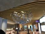 影劇院弧形鋁方通木紋波浪型鋁方通